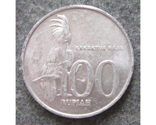 100 рупий 2002 год Индонезия Какаду