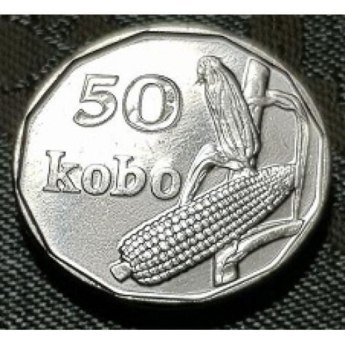 50 кобо 2006 год Нигерия