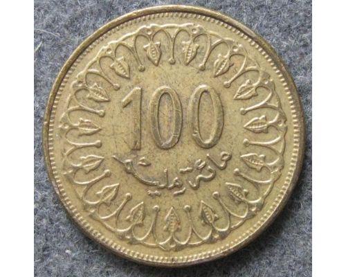 100 миллим 1997 год Тунис