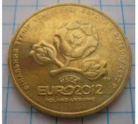 1 гривна. ЕВРО 2012. UNC