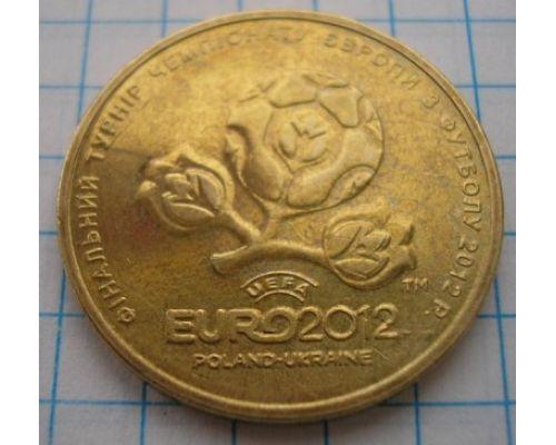 1 гривна ЕВРО 2012 UNC