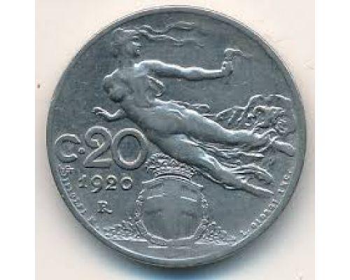 20 чентезимо 1920 года Италия