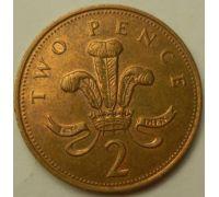 2 пенса (1993–1997 г)  Великобритания