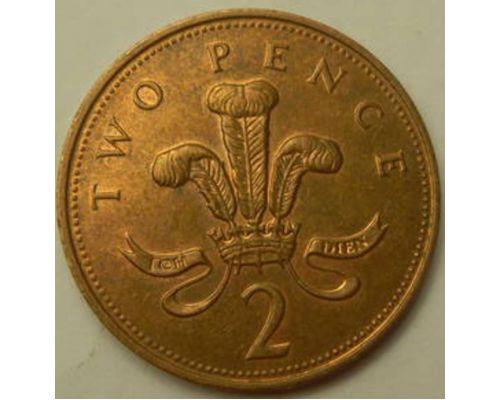 2 пенса (1993–1997 г.)  Великобритания