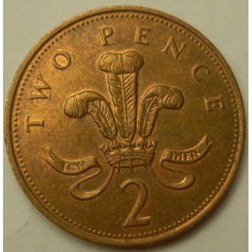 2 пенса (1992–1997 г.)  Великобритания