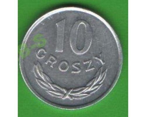 10 грошей 1961-1985 Польша