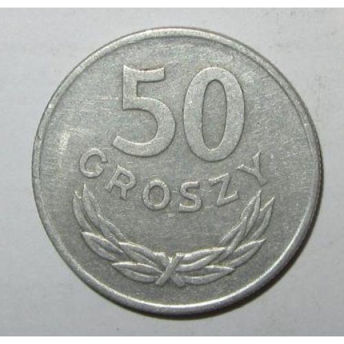 50 грошей 1957-80 год. Польша