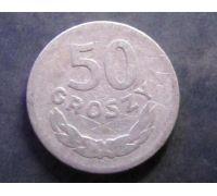 50 грошей 1949 год Польша