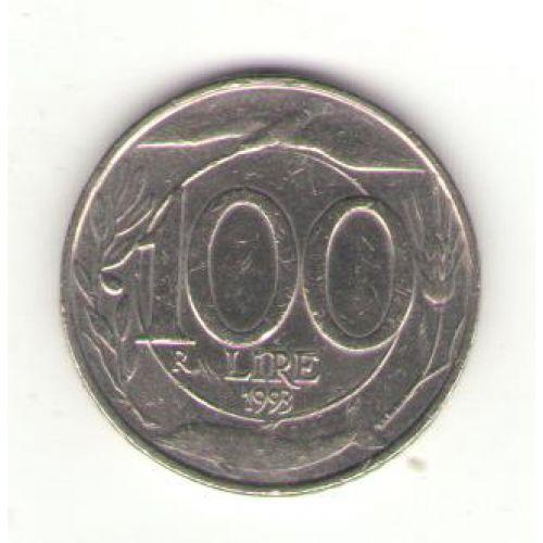 100 лир (1993–2001 г.) Италия