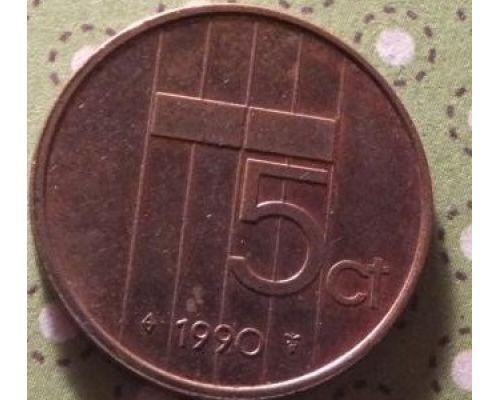 5 центов (1982–2001 г) Нидерланды