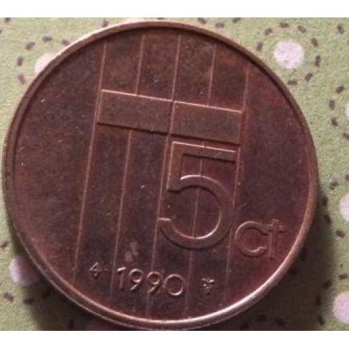 5 центов (1982–2001 г.) Нидерланды