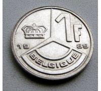 1 франк (1989–1993 г) Бельгия