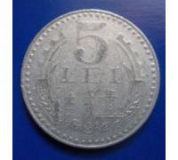 5 лей 1978 год Румыния