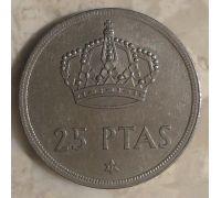 25 песет 1975 год Испания (76-82)