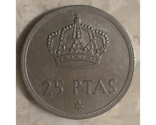 25 песет 1975 год Испания (8079)