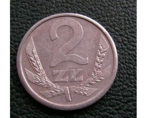 2 злотых 1989-1990 год Польша Состояние