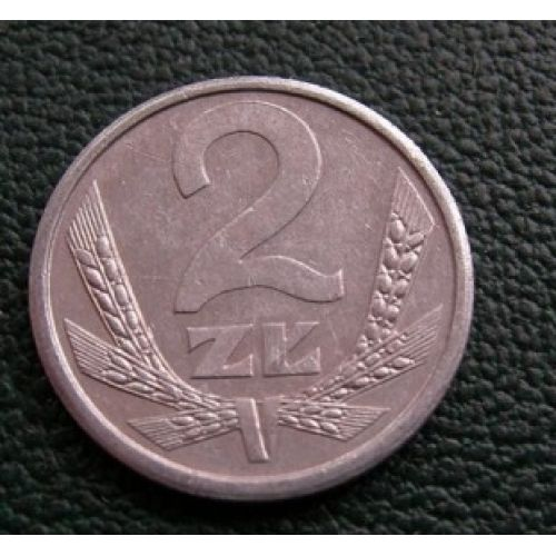 2 злотых 1989-1990 год. Польша. Состояние