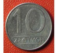 10 злотых 1988 год. Польша . Состояние
