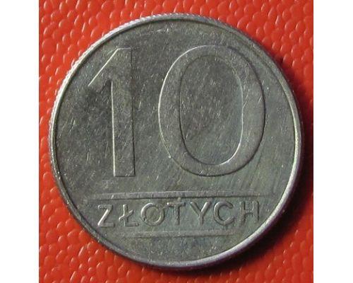 10 злотых 1988 год Польша  Состояние