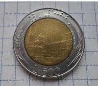 500 лир (1983-2001) год Италия