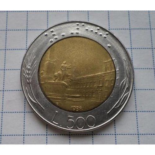 500 лир (1982-2001) год Италия