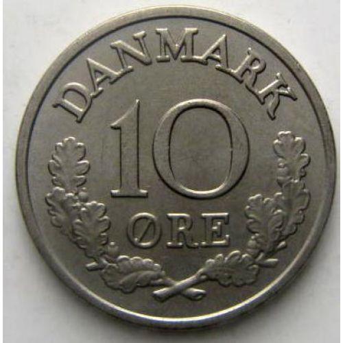 10 эре 1972 года. Дания