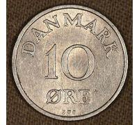 10 эре 1954-1956 года Дания