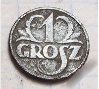 1 грош 1933 Польша Редкий