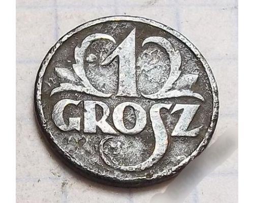 1 грош 1933. Польша. Редкий