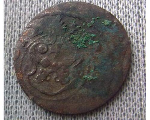 1 солид. 1632-1654. Ливония. Швеция. Кристина Ваза (3)