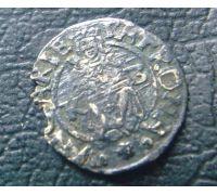 Денарий 1570 год Венгрия Максимилиан 2
