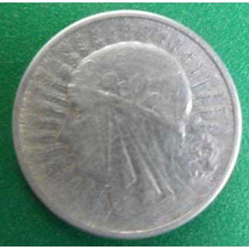 2 злотых 1934 год. Польша. Серебро. Ядвига