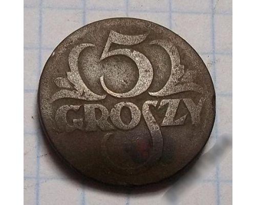 5 грошей 1923 Польша (2)
