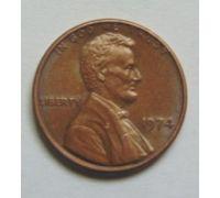 1 цент 1974 года США Америка