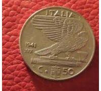 50 чентезимо 1941 года Италия  Состояние