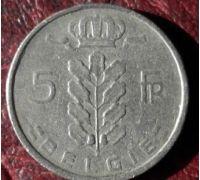 5 франков (1948–1981 г) Бельгия