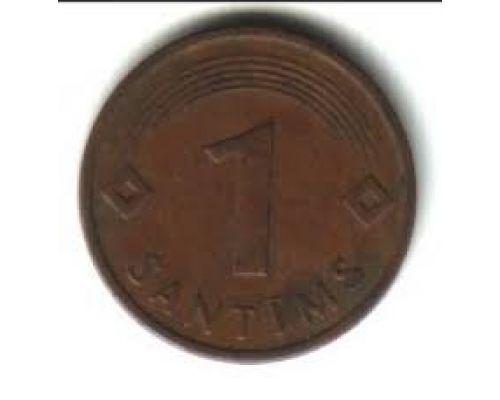 1 сантим 1997-2003 год Латвия