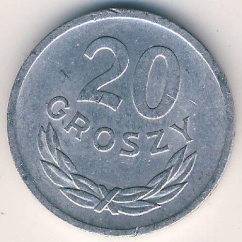 20 грошей (1957–1985 г.) Польша