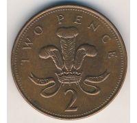 2 пенса (1998–2008 г)  Великобритания