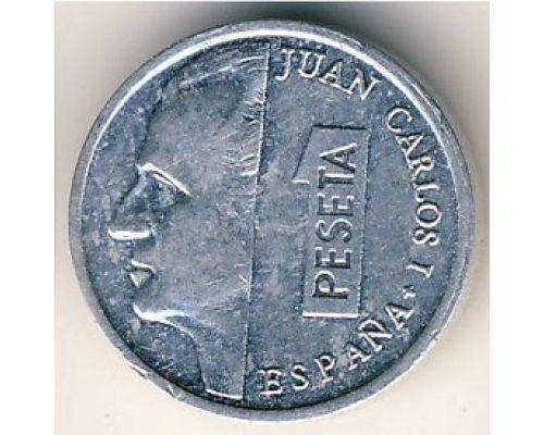 1 песета (1989–2001) Испания