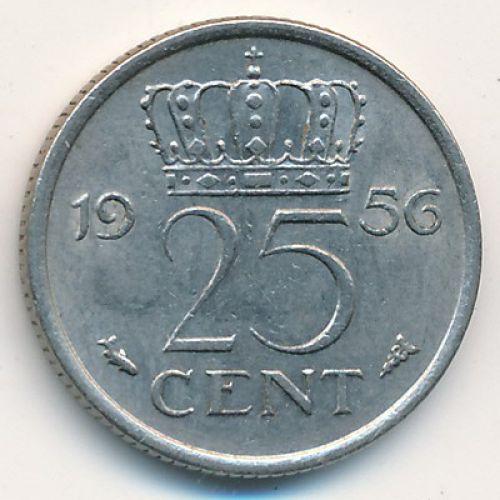25 центов (1950-1980). Нидерланды