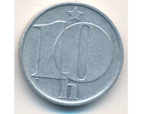 10 гелеров (1974–1990 г) Чехословакия