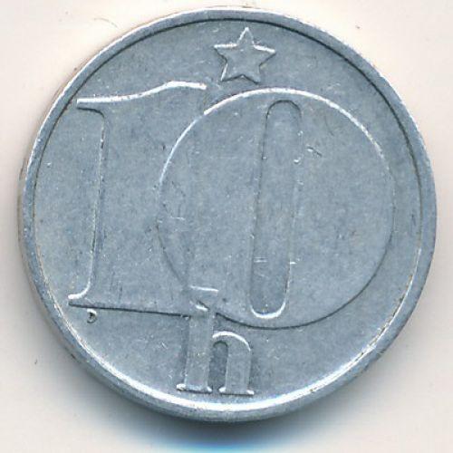 10 гелеров (1974–1990 г.) Чехословакия