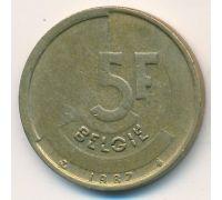 5 франков (1986–1996 г) Бельгия