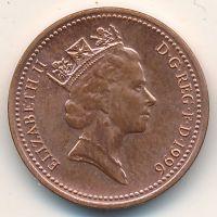 1 пенни (1992–1997 г) Великобритания