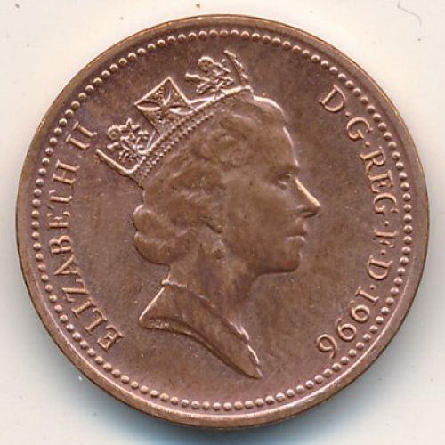 1 пенни (1992–1997 г.) Великобритания