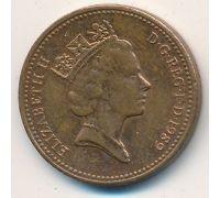 1 пенни (1982–1992 г) Великобритания