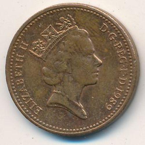 1 пенни (1982–1992 г.) Великобритания