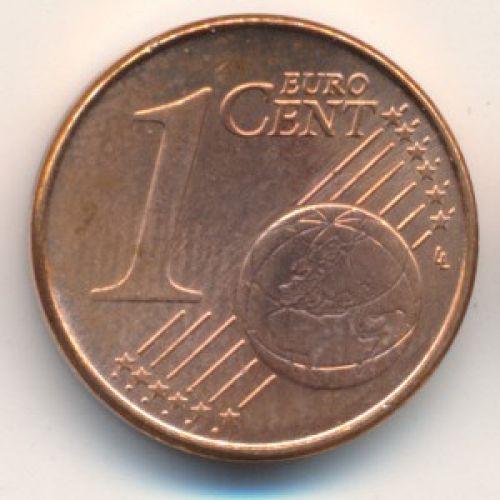 1 евроцент 2002 год. Германия