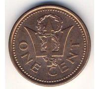 1 цент (1992–2008 г) Барбадос